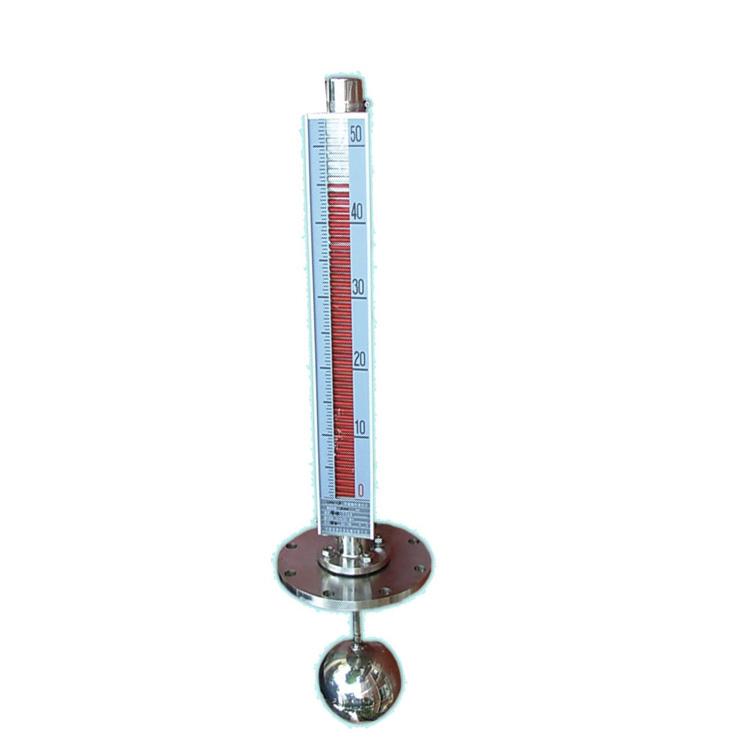 UHC-D 型顶装式磁翻转双色液位计 磁浮子液位计
