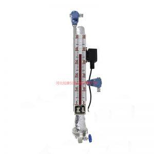 电伴热磁翻柱液位计防冻磁浮子液位计