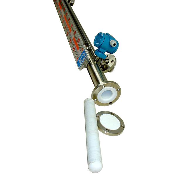 盐酸磁浮子液位计防腐式带远传磁翻板液位计