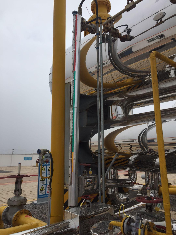 磁翻板液位计用于钻探项目